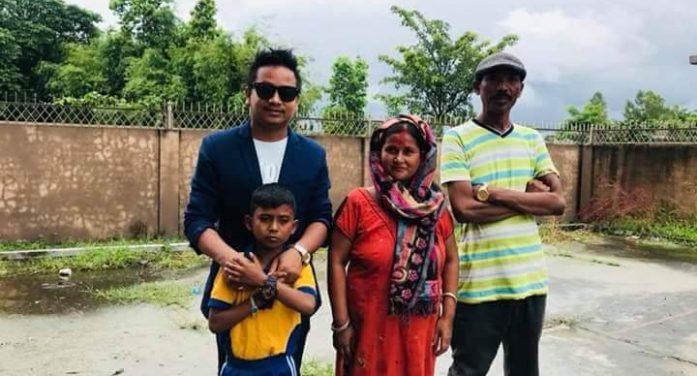 अशोक दर्जीको घर निर्माणका लागि युएईमा रहेका झापालीहरुबाट  सहयोग